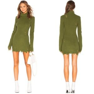 Lovers + Friends Keeney Distressed Sweater Dress